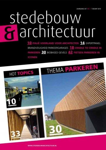 - Stedebouw en Architectuur #1 2013