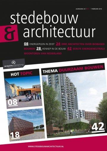 - Stedebouw en Architectuur #1 2016