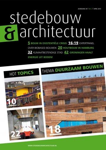 - Stedebouw en Architectuur #2 2013