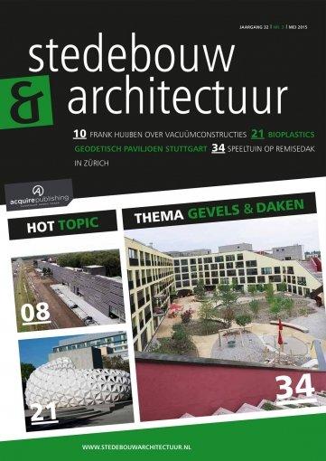 - Stedebouw en Architectuur #3 2015