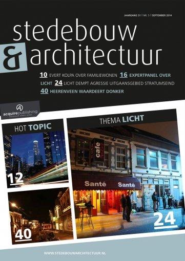 - Stedebouw en Architectuur #6 2014