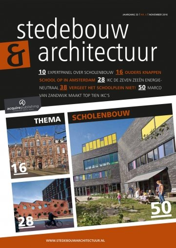 - Stedebouw en Architectuur #6 2016