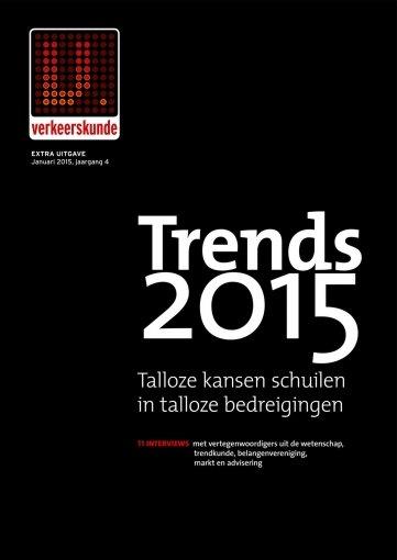 - Verkeerskunde Trends 2015