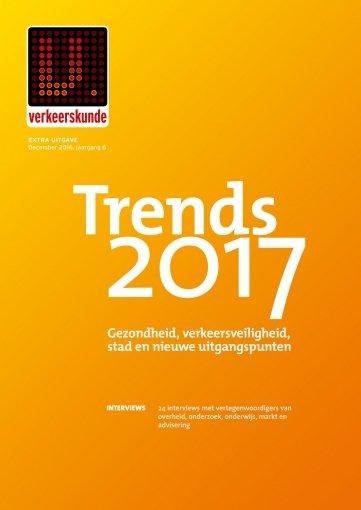 - Verkeerskunde Trends 2017