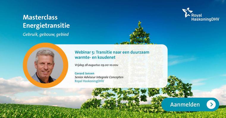 28 augustus 2020: Transitie naar een duurzaam warmte- en koudenet