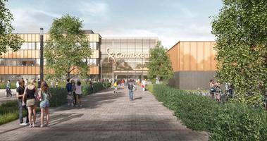 Duurzame nieuwbouw Cambreur College in gebruik genomen