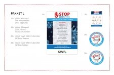 - Campagne pakket L - inclusief logo vermelding