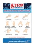 - Instructies voor handenwassen
