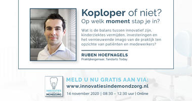 Ruben Hoefnagels (Tandarts Today) over zijn strategie: 'Een platte organisatiestructuur geeft meer ruimte voor innovatie'