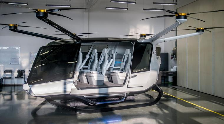 Hydrogen helicopters instead of company cars?