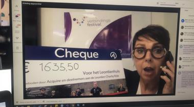 €1635,50 gedoneerd aan het Leontienhuis